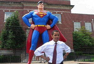 Barack Is Superman