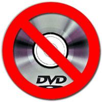 No DVDs