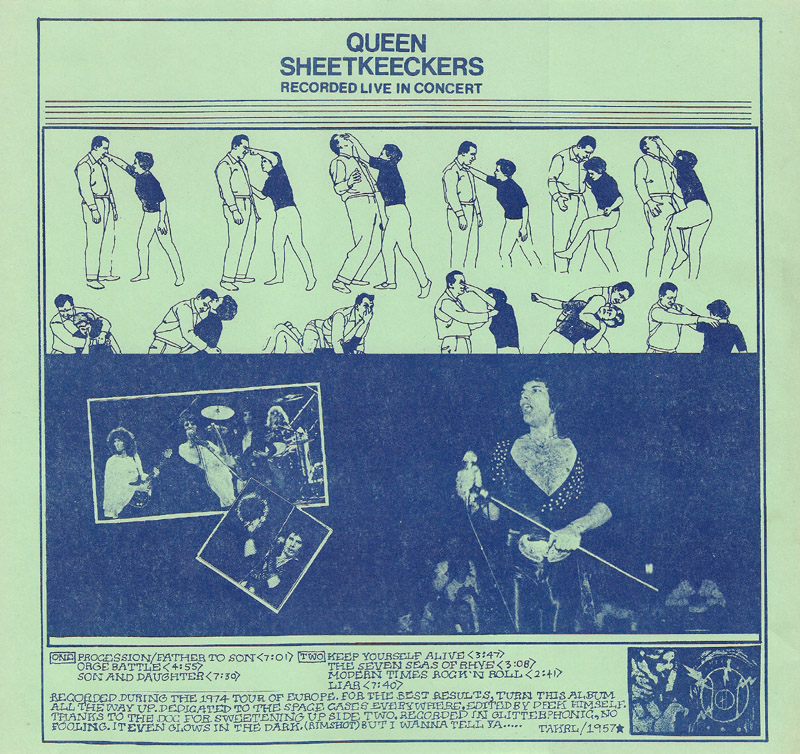 Queen - Sheetkeeckers