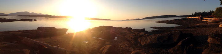 Salt Spring Sunset